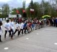 В Вольске на центральной площади прошел кросс, посвященный Дню Победы!