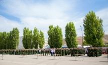 В Вольском военном институте прошла присяга (Фото)