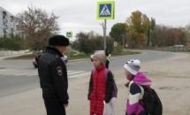 В Вольске прошла акция «Дорогу маленькому пешеходу»