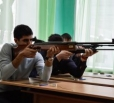 Вольчане соревновались в стрельбе из пневматического оружия