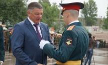 В Вольском военном училище прошел выпуск молодых лейтенантов