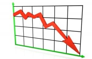 график вниз