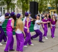 Выступление танцевального коллектива Вольского музыкального училища. 9 мая 2013 год