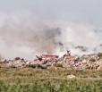 В Вольске упал полумиллионный забор на свалке