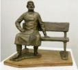В городском парке установят скульптуру купцу П. С. Сапожникову